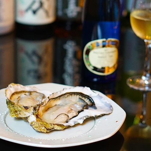 食道楽 ワインと牡蛎