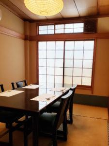 食道楽 個室